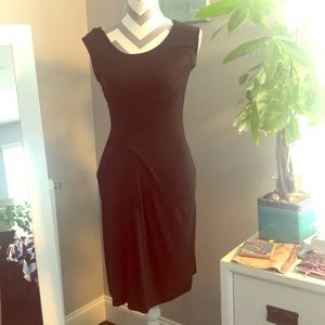 Catherine Maladrino size small black dress.